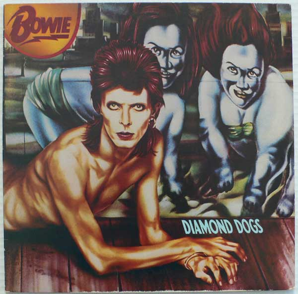 "Cover von ""Diamond Dogs"", 1974"