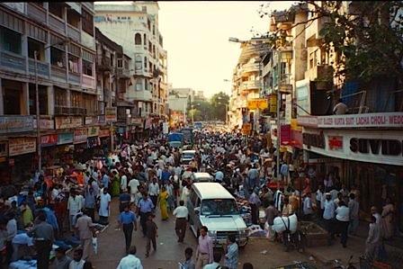 In Mumbai funktioniert Stadt ganz anders als in Europa.